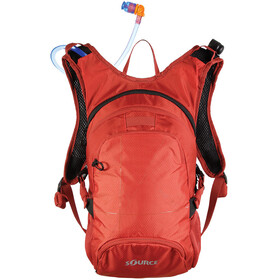 SOURCE Fuse Trinkrucksack 2+6l chili orange